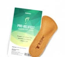 Pro Relifeet - palmilhas planas - comentarios - Amazon - creme